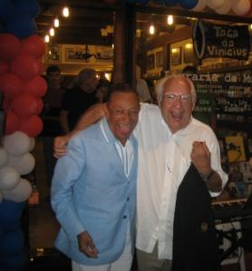 O Maestro com seu velho amigo Henri Salvador